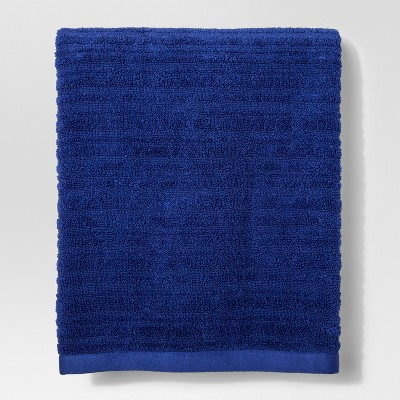 Textured Bath Towel Dancing Blue - Project 62™