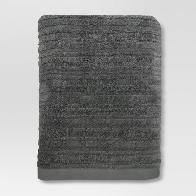 Textured Bath Towel Pigeon Gray - Project 62™