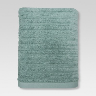 Textured Bath Towel Smoke Green - Project 62™