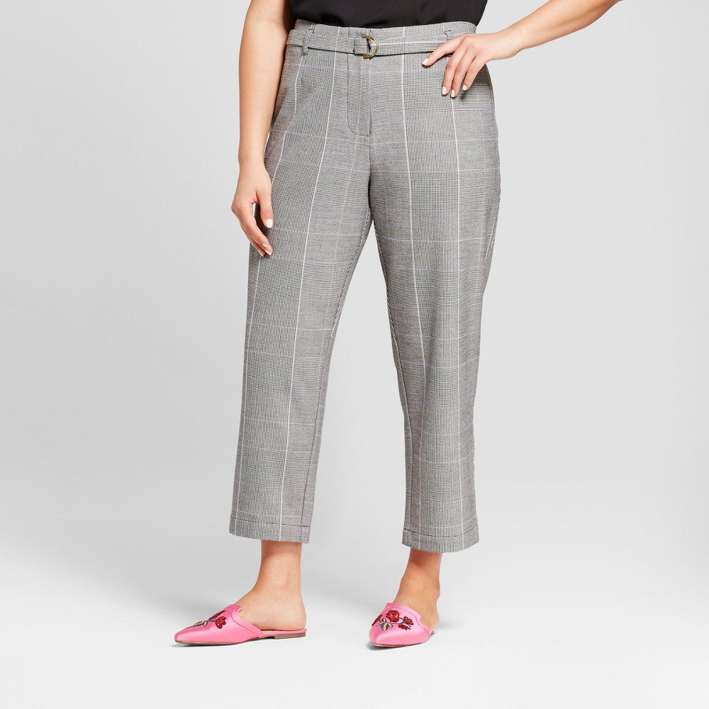 Womens Plus Size Bootcut Trouser - Who What Wear Gray 20W