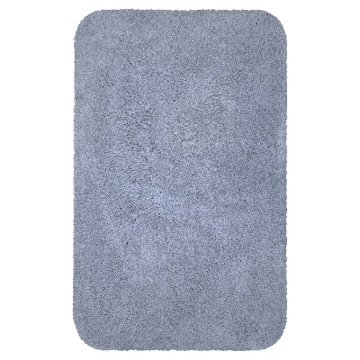 Everyday Solid Bath Rug (17x24)Ice Water