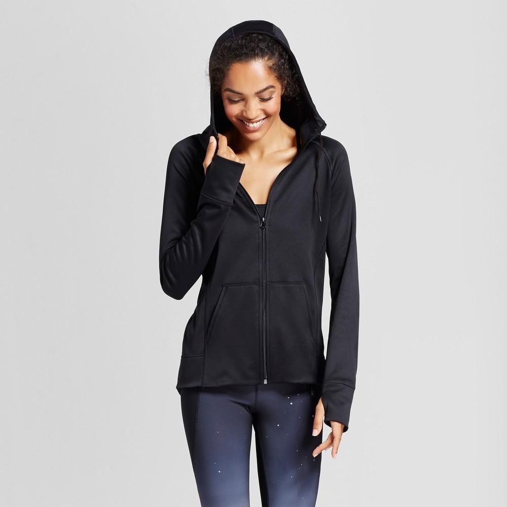 Womens Tech Fleece Full Zip Hoodie - C9 Champion Black M