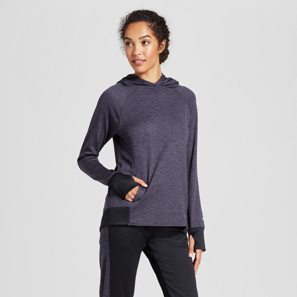 Womens Tech Fleece Hoodie - C9 Champion Dark Heather Gray L, Ps Dark Gray Heather