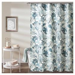 Cynthia Jacobean Shower Curtain - Lush Decor