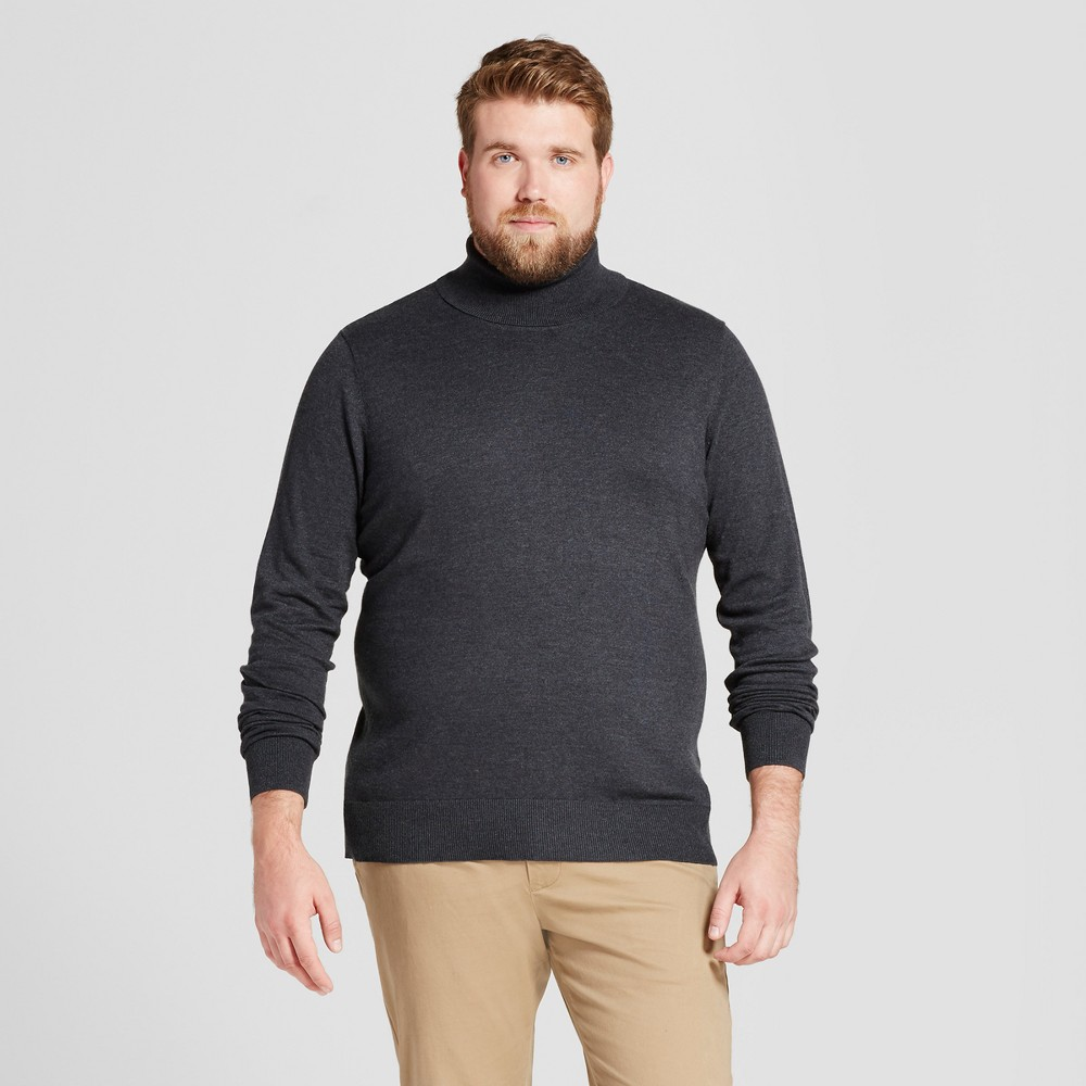 Mens Big & Tall Turtle Neck - Goodfellow & Co Charcoal (Grey) LT