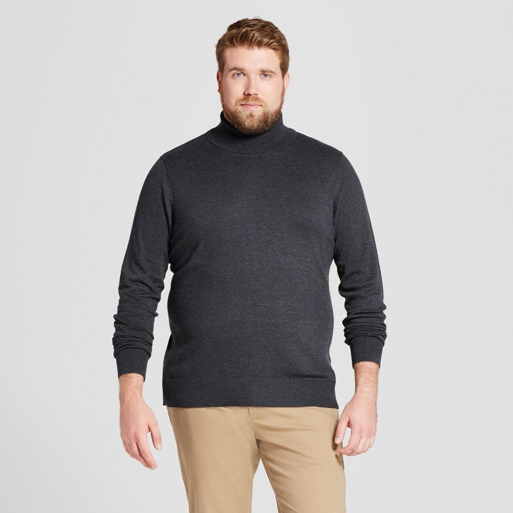 Mens Big & Tall Turtle Neck - Goodfellow & Co Charcoal (Grey) 2XB
