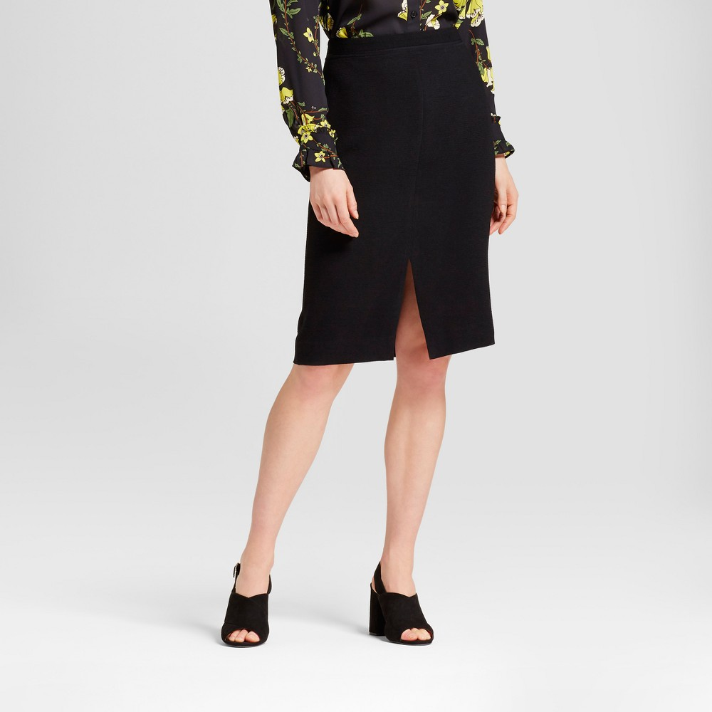 Womens Pencil Skirt - Who What Wear Black 10