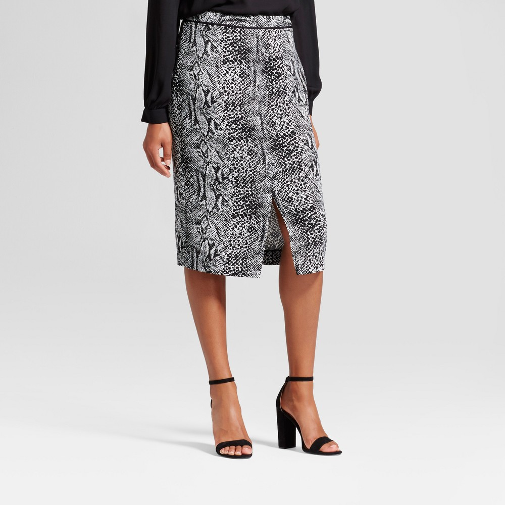 Womens Pencil Skirt - Who What Wear Snakeskin 12