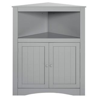 White Kitchen Hutch Target corner cabinet : target