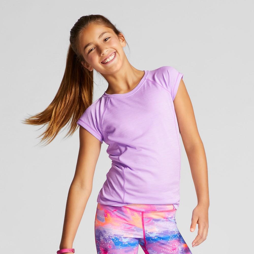 Girls Novelty Tech T-Shirt - C9 Champion Lavender Heather S