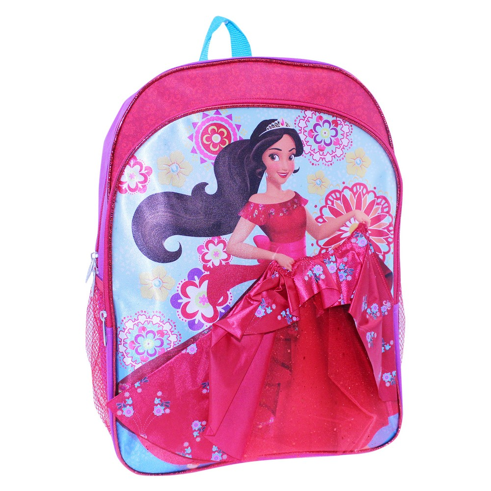 Elena of Avalor 16 Kids Backpack with 3D Dress, Multi-Colored