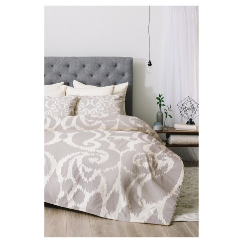 Gray Khristian A Howell Quiet Eloise Comforter Set - Deny Designs® - image 1 of 3