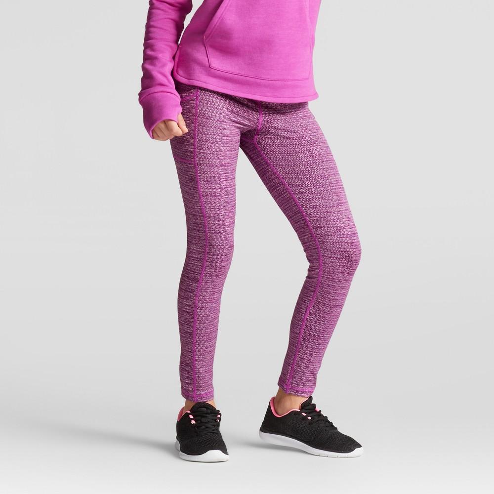 Girls Herringbone Leggings - C9 Champion - Purple L