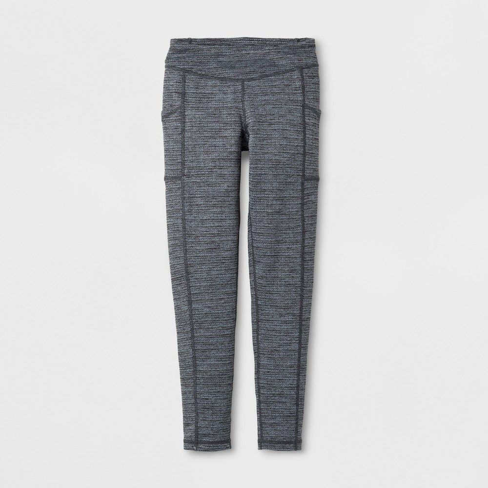 Girls Herringbone Leggings - C9 Champion - Black L