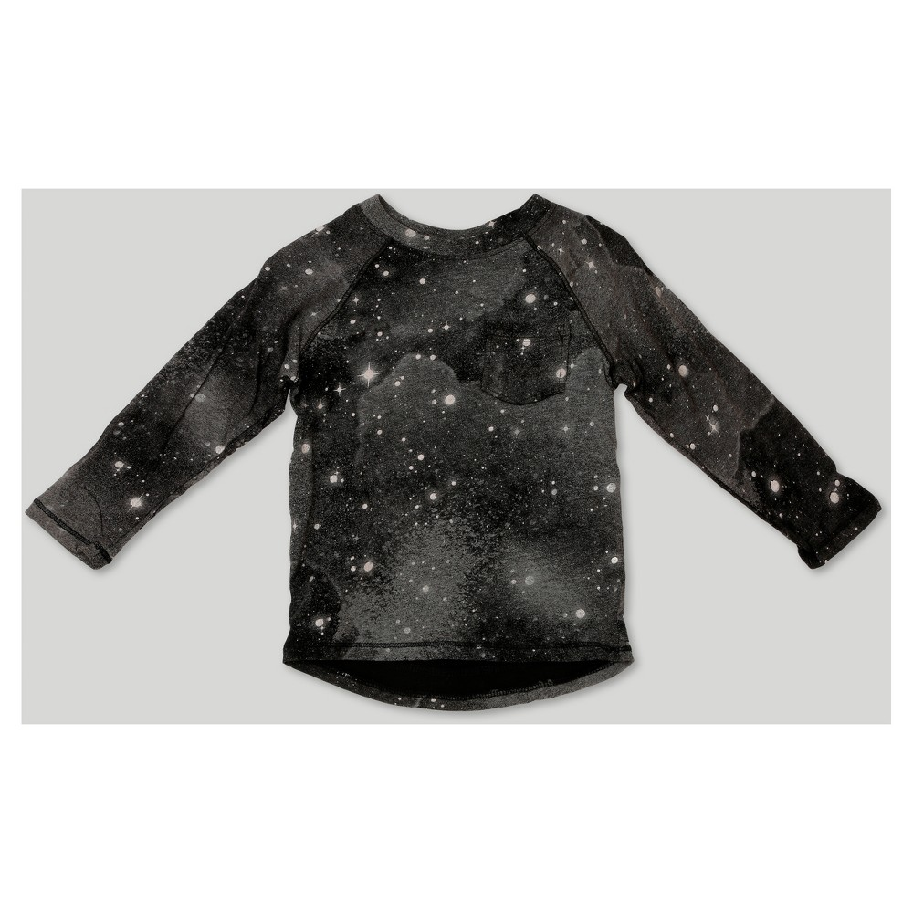 T-Shirt Black 3T, Toddler Boys
