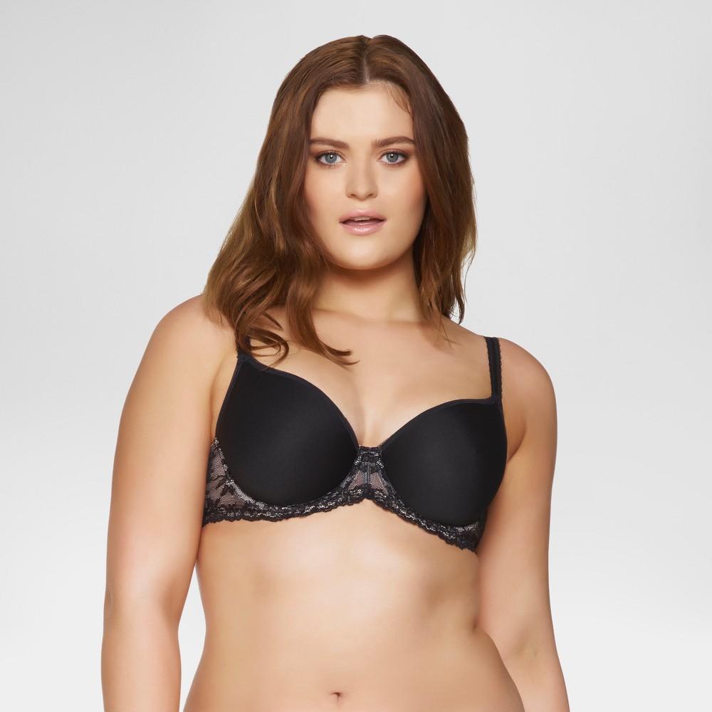 Paramour Womens Ariel Light & Breathable Contour Bra - Black 36C