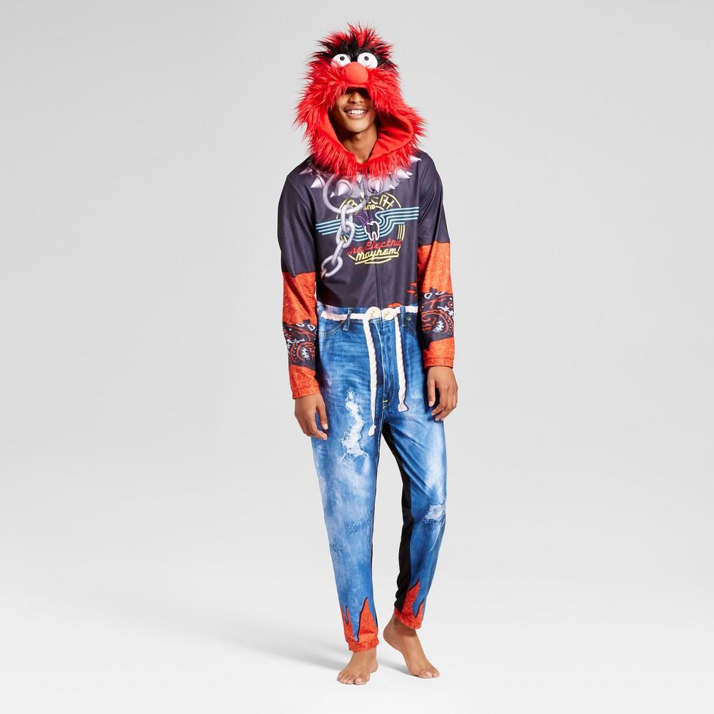 Mens Muppets Union Suit - Red L