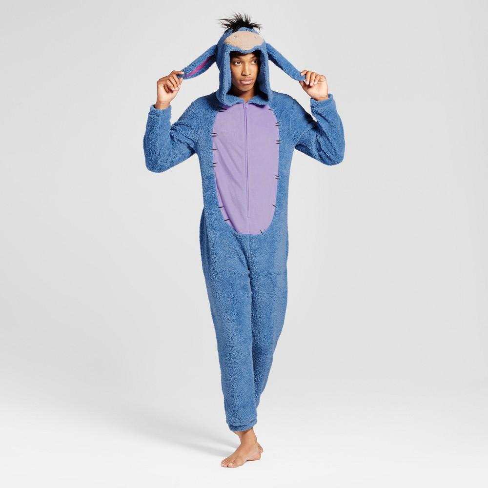 Mens Eeyore Union Suit- Blue M