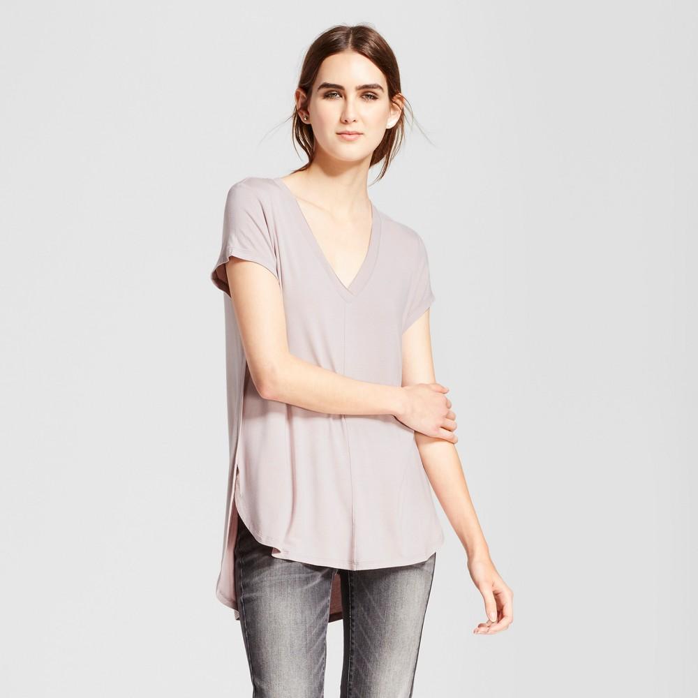Womens Short Sleeve Center Seam T-Shirt - Mossimo Pink Xxl
