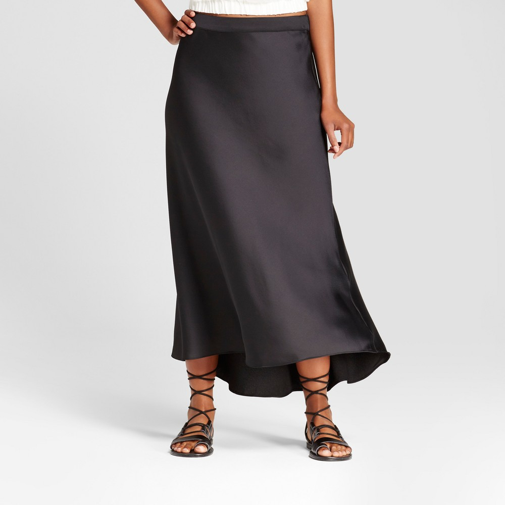 Womens Bias Skirt - Mossimo Black 8