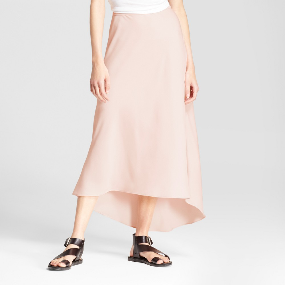 Womens Bias Skirt - Mossimo Pink 14