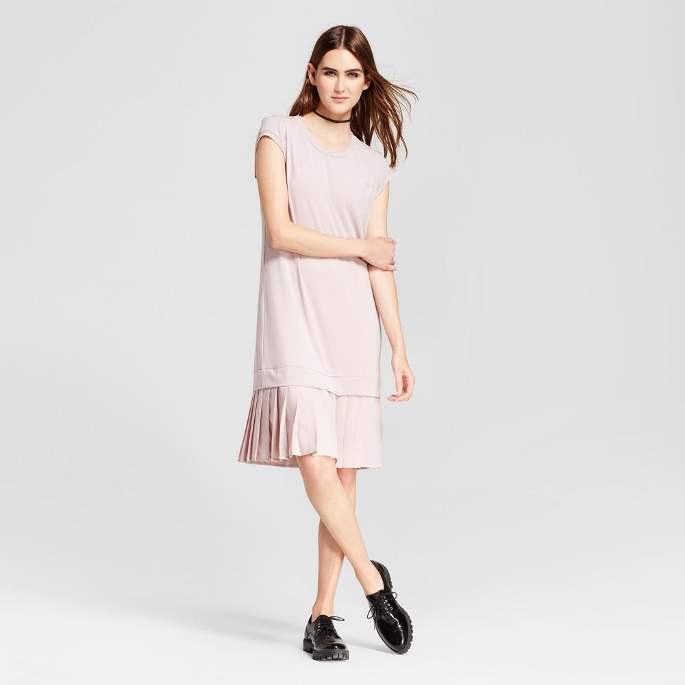 Womens Mini Cap Sleeve Layered Shift Dress - Mossimo Pink S