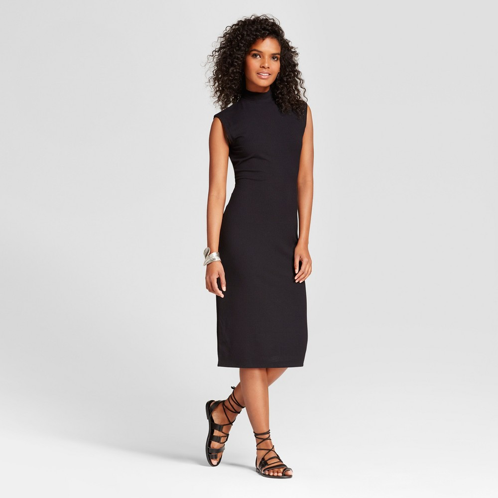 Womens Sleeveless Column Dress - Mossimo Black S