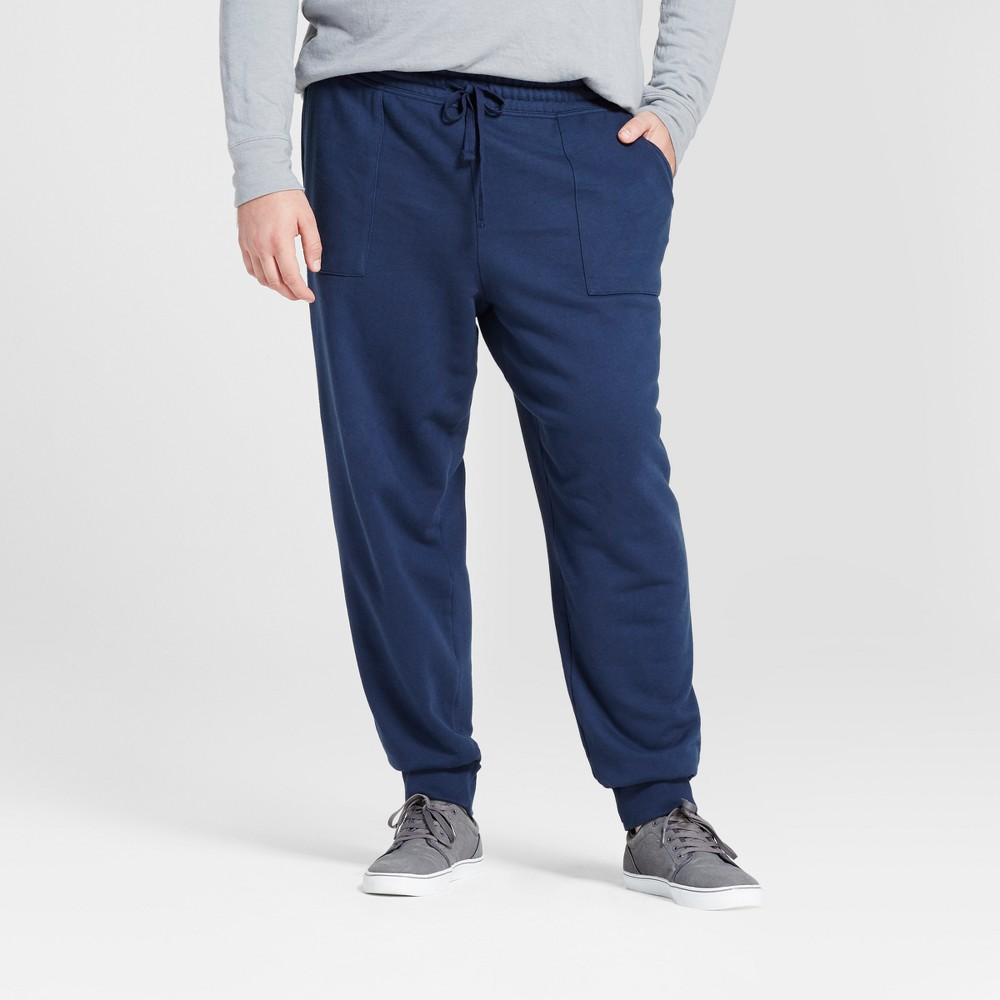 Mens Big & Tall Jogger Pants - Goodfellow & Co Navy (Blue) 4XB