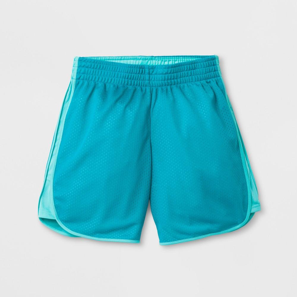 Girls Basketball Shorts - C9 Champion Teal (Blue) XL