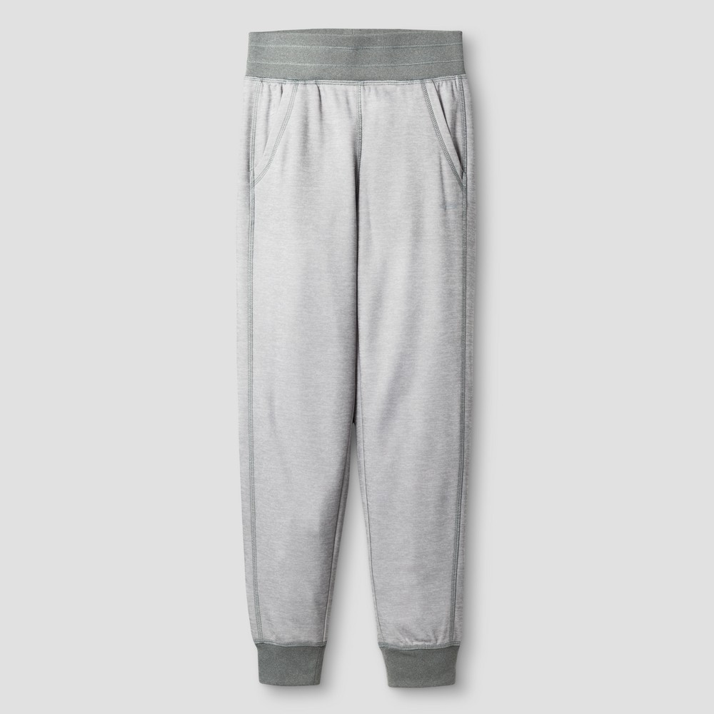 Girls Tech Fleece Jogger Pants - C9 Champion - Gray Heather XL, Heather Gray
