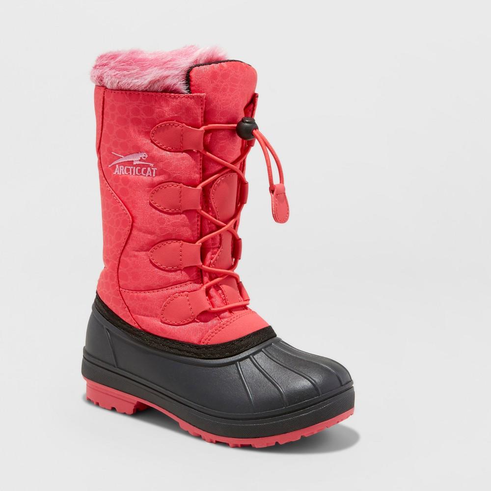 Girls Arctic Cat Snowcharm Winter Boots - Rose (Pink) 6