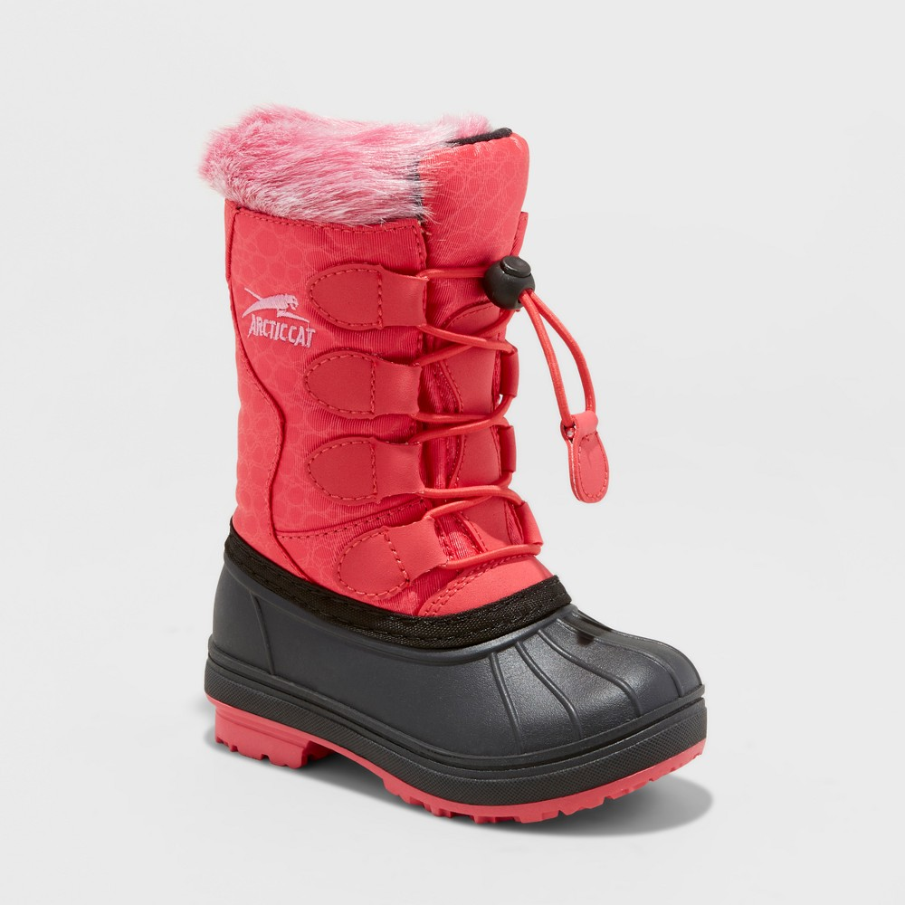 Toddler Girls Arctic Cat Snowcharm Winter Boots - Rose (Pink) 10