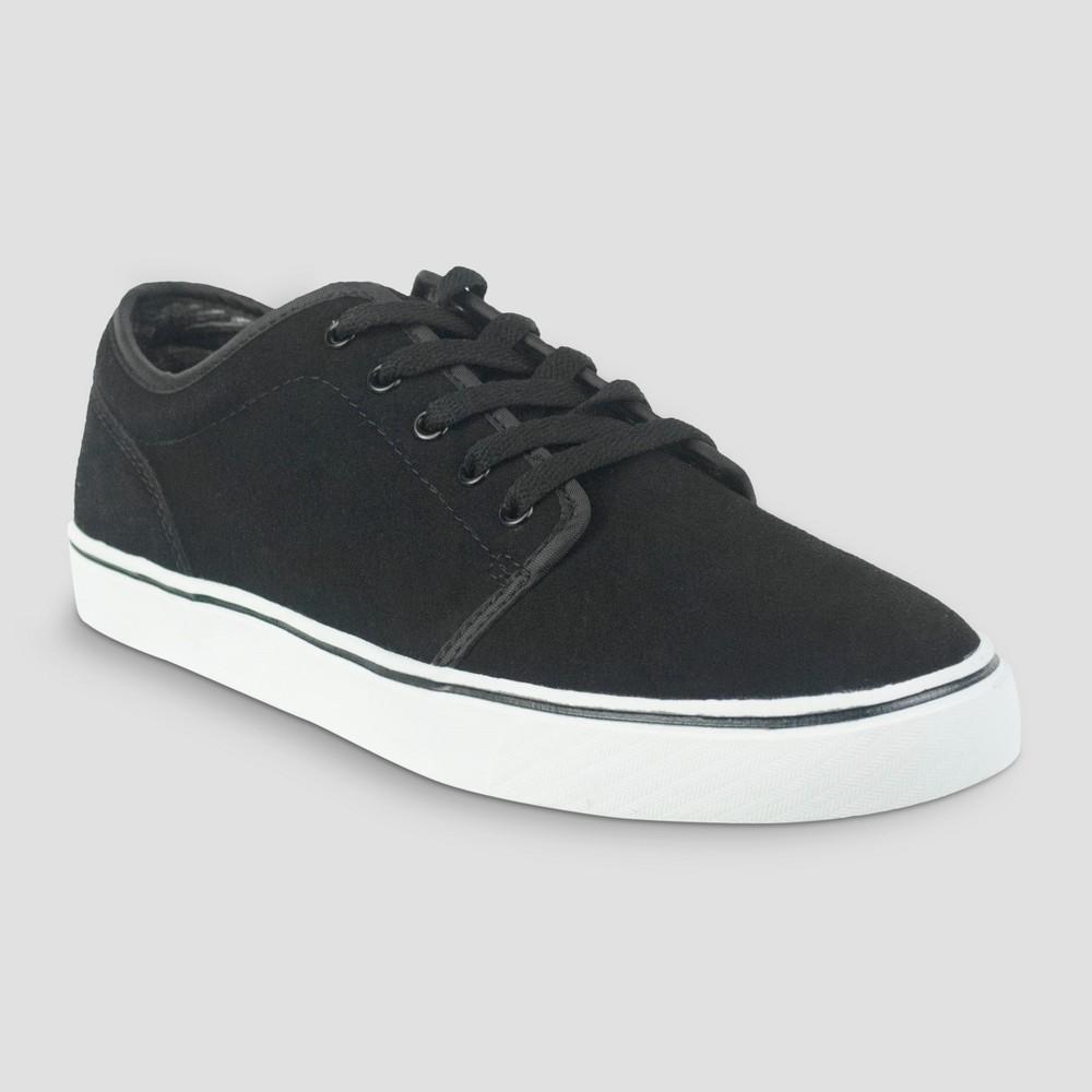 Mens Bowen Lo Pro Skate Shoe - Goodfellow & Co Black 9.5