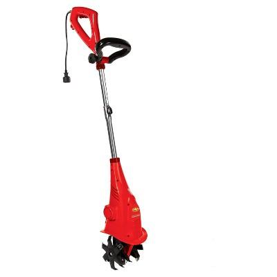 Sun Joe® 120 Volts, 300 Watts Electric Garden Cultivator - 6 In - Red
