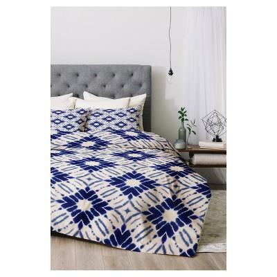 Blue Jacqueline Maldonado Watercolor Shibori Comforter Set (Twin XL)2pc - Deny Designs®