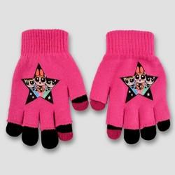 Girls' Power Puff Texting gloves - Pink/Purple