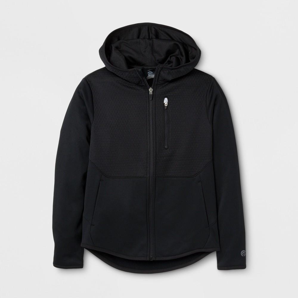 Boys' Elevated Tech Fleece Full Zip Hoodie - C9 Champion Black M