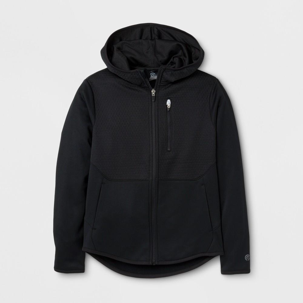 Boys Elevated Tech Fleece Full Zip Hoodie - C9 Champion - Black XL