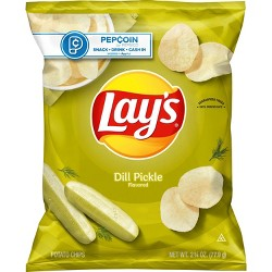 Lay's Dill Pickle Potato Chips - 2.75oz