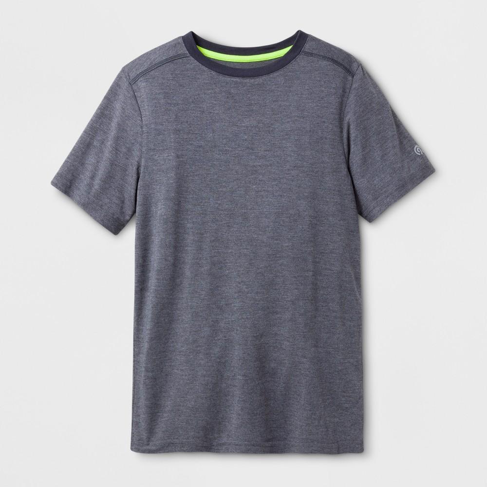 Boys Soft Performance T-Shirt - C9 Champion Indigo Blue Heather M