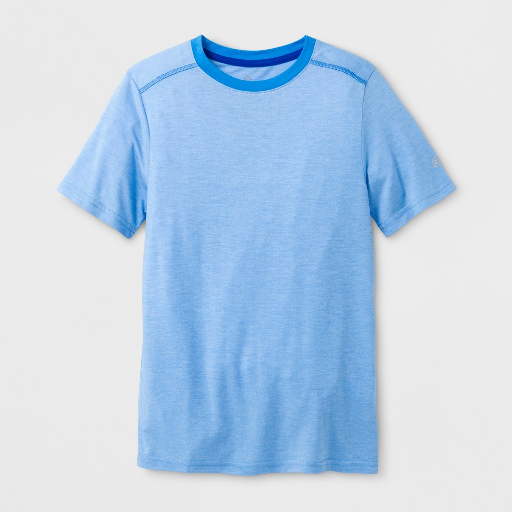 Boys Soft Performance T-Shirt - C9 Champion Swiss Blue M