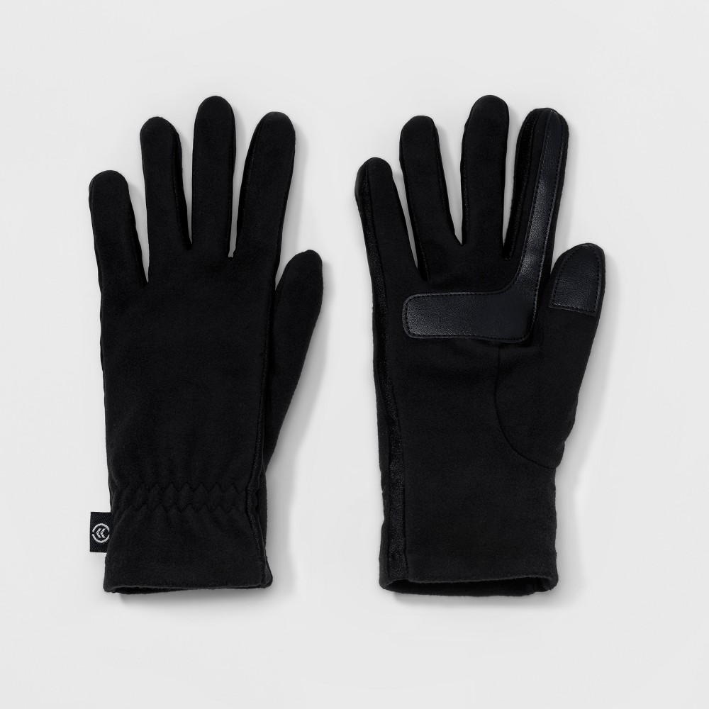 Womens Isotoner SmarTouch Fleece Glove - Black