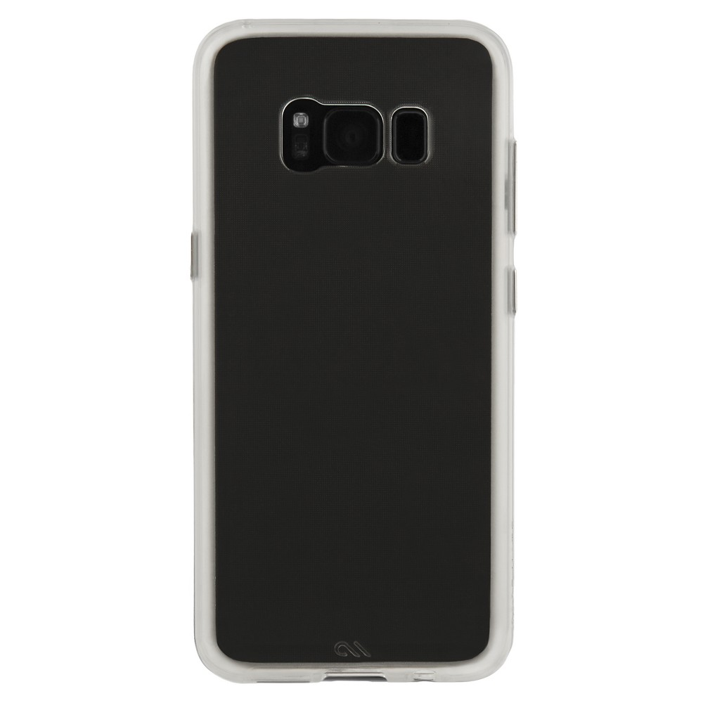 Samsung Galaxy S8 Plus Case - Case-Mate Naked Tough - Clear