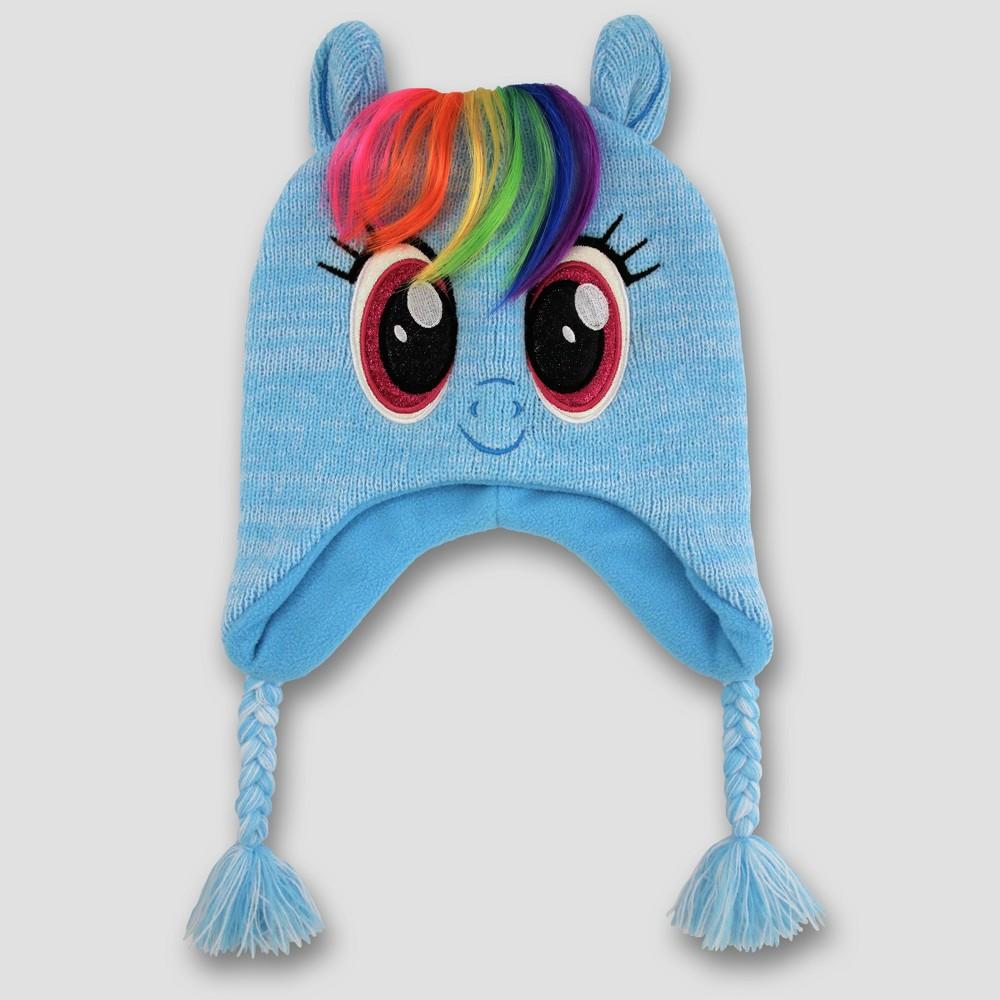 Girls My Little Pony Peruvian Hat - Blue