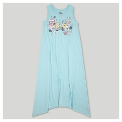 Girls' Despicable Me 3 Midi Length Sleeveless Dress - Blue