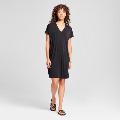 Black dress quarter sleeve shirt