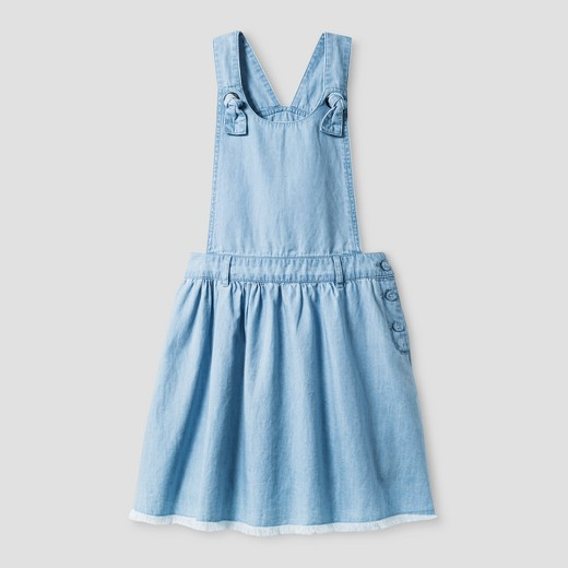 Girls 39 sleeveless apron dress cat jack chambray target for Cuisine you chambray