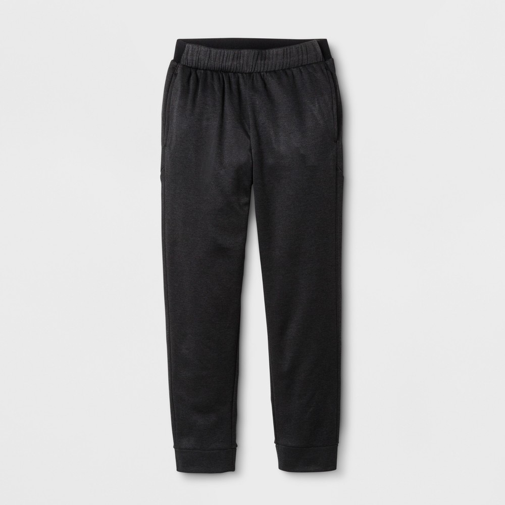 Boys' Tech Fleece Jogger Pants - C9 Champion - Black Heather L