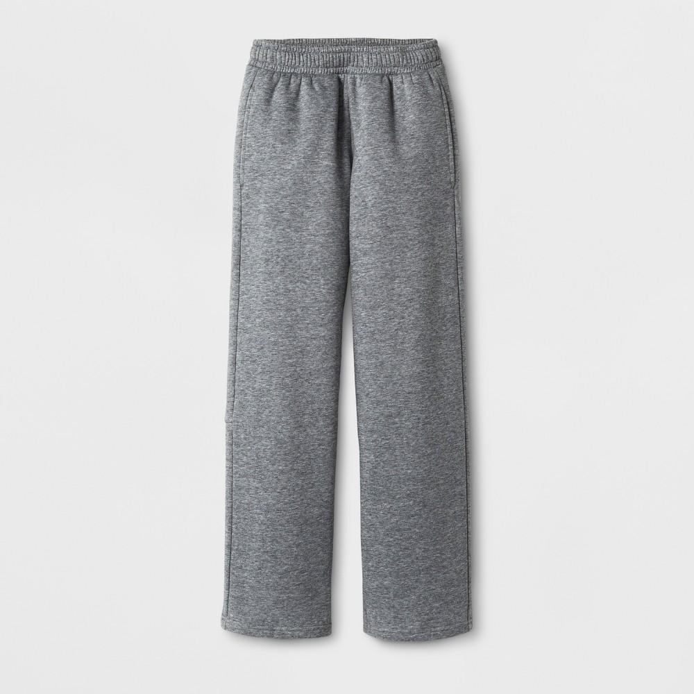 Boys Cotton Fleece Pants - C9 Champion - Varsity Gray Heather M, Heather Gray
