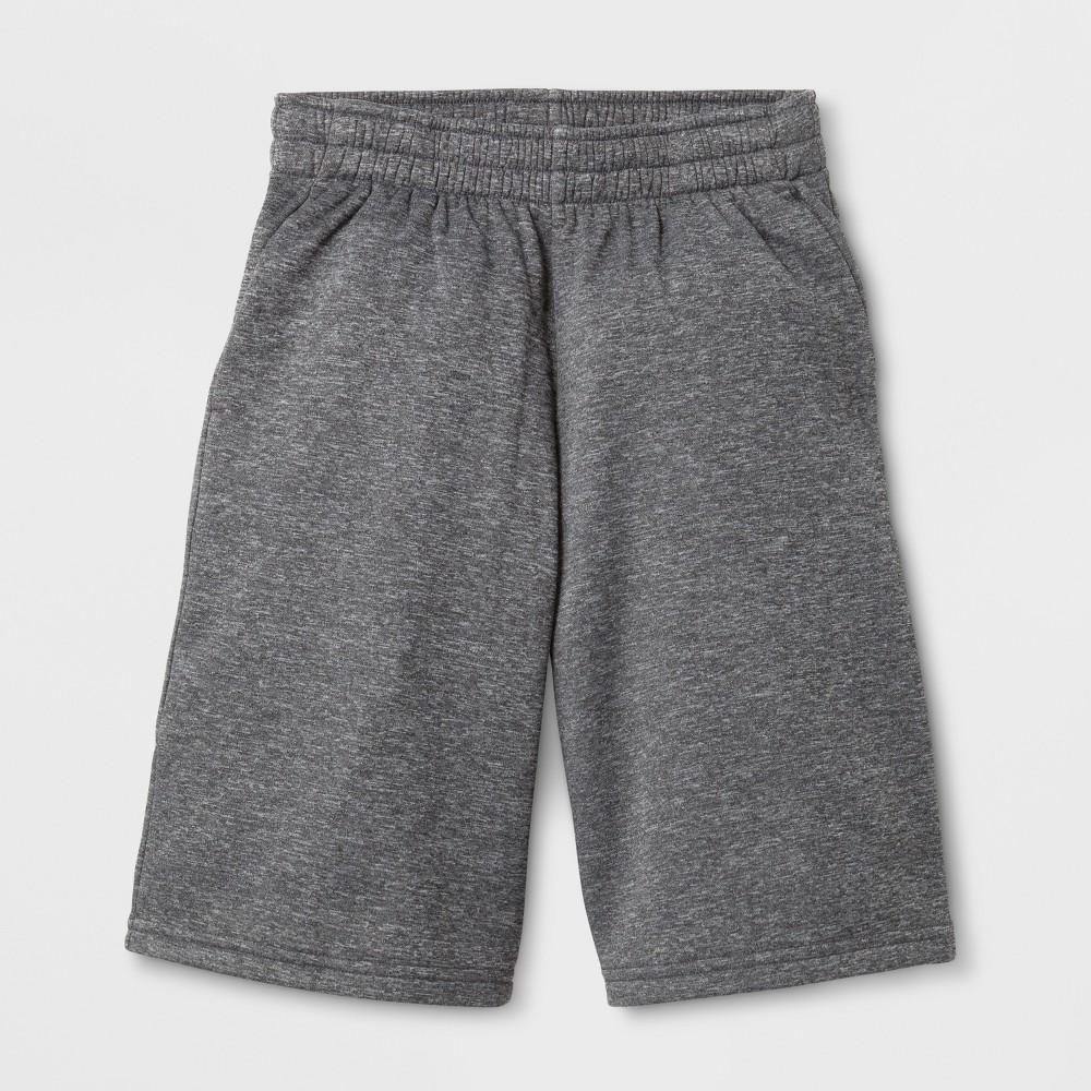 Boys Tech Fleece Shorts - C9 Champion - Charcoal Heather L